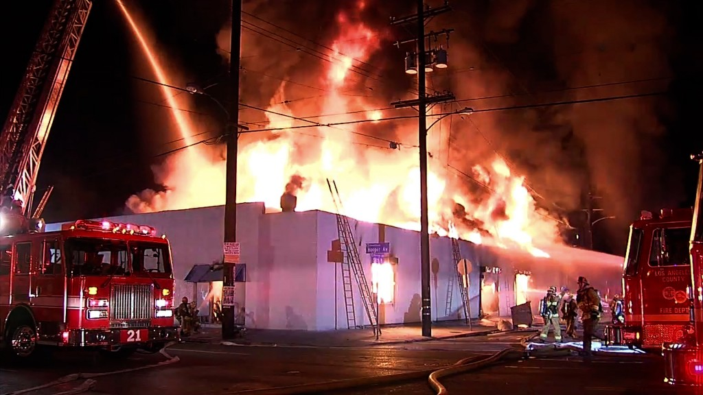 Structure Fires 2015 #6